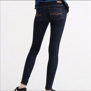 Abercrombie & Fitch Erin low Straight Leg Jean 00S